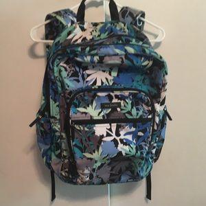 Vera Bradley camofloral backpack